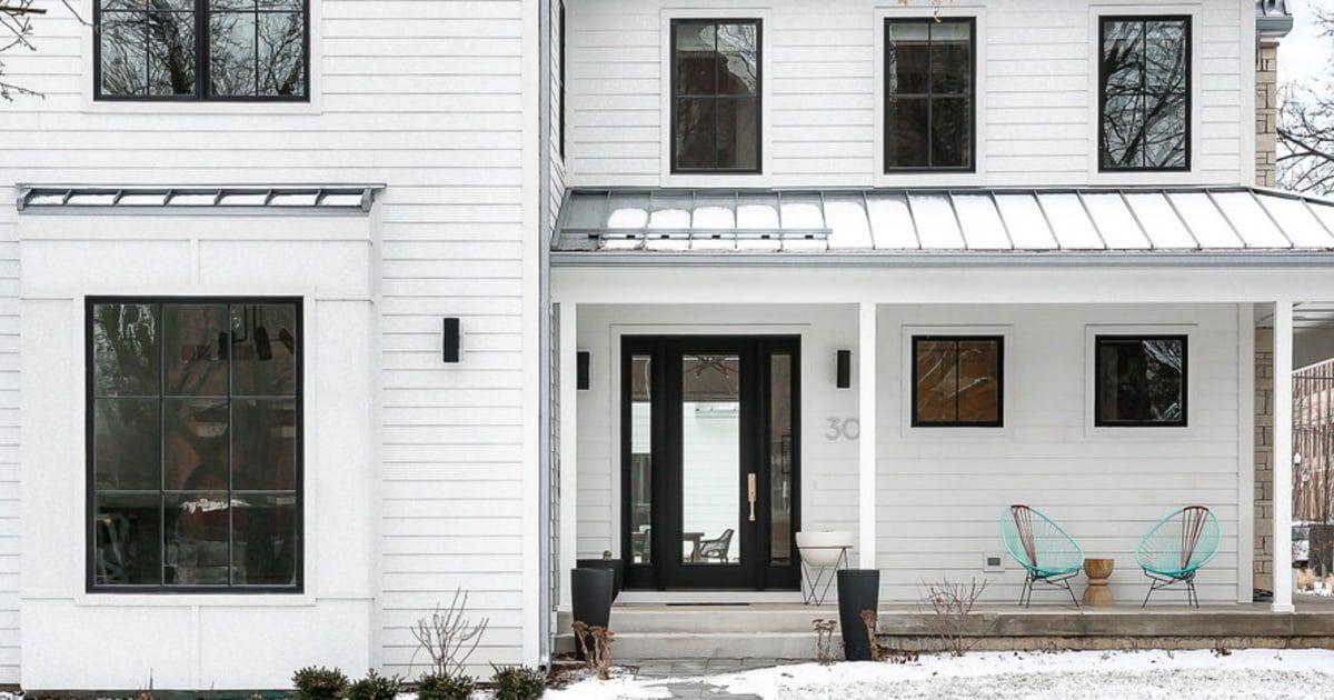 Scandinavian Farmhouse Home Naperville Historic District