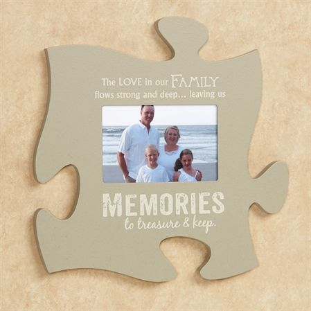 Puzzle Piece Wall Decor family puzzle piece wall art | home decor - frame it! | pinterest