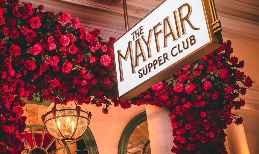 Homepage the mayfair supper club in 2020 supper club
