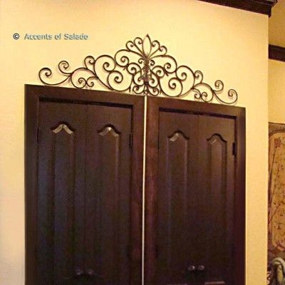Carlotta Wall Decor From Accents Of Salado Iron Wall Decor Offers A Myriad Of Choices And Solutions For Mod Tuscan Decorating Iron Decor Wrought Iron Decor