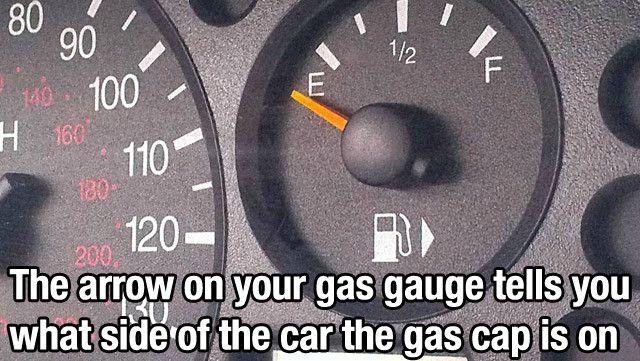 Gas Guage arrow