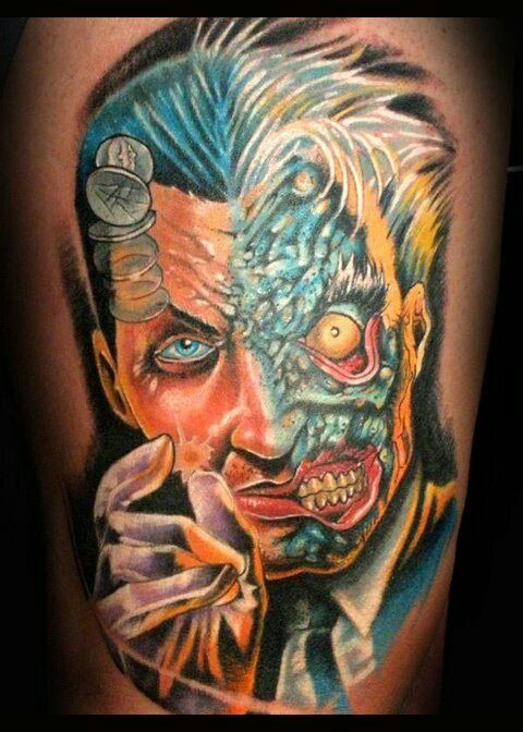 Two Face Tattoo