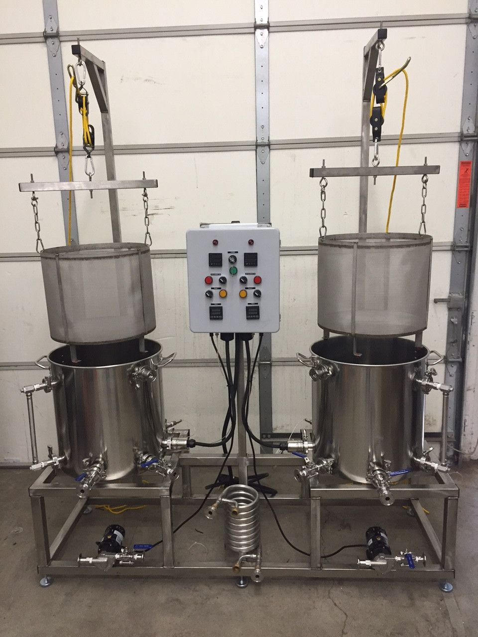Nano Brewer Dual Professional Brewing System 40 Gallon Version Wiring Wizards Rehoboth Beach Colorado