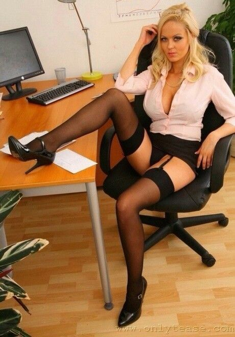 Horny black secretaries