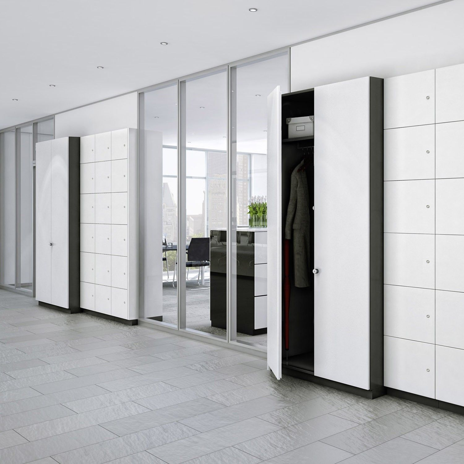 Allvia Storage Wall - Offices  Storage Solutions - Pinterest