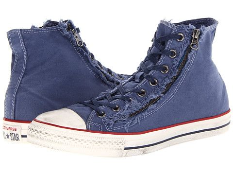 Converse Men's Chuck Taylor All Star Washed Canvas Hi Top