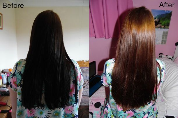 Beautiful Removing Hair Color at Home