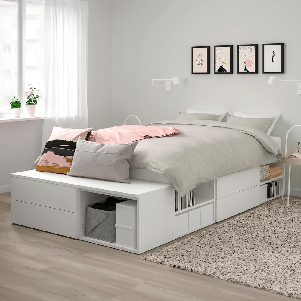 Ikea Katalogus Es Brosurak Brosurak Es Ikea Katalogus Schlafzimmermalm In 2020 Beds For Small Rooms Small Room Bedroom Small Room Design