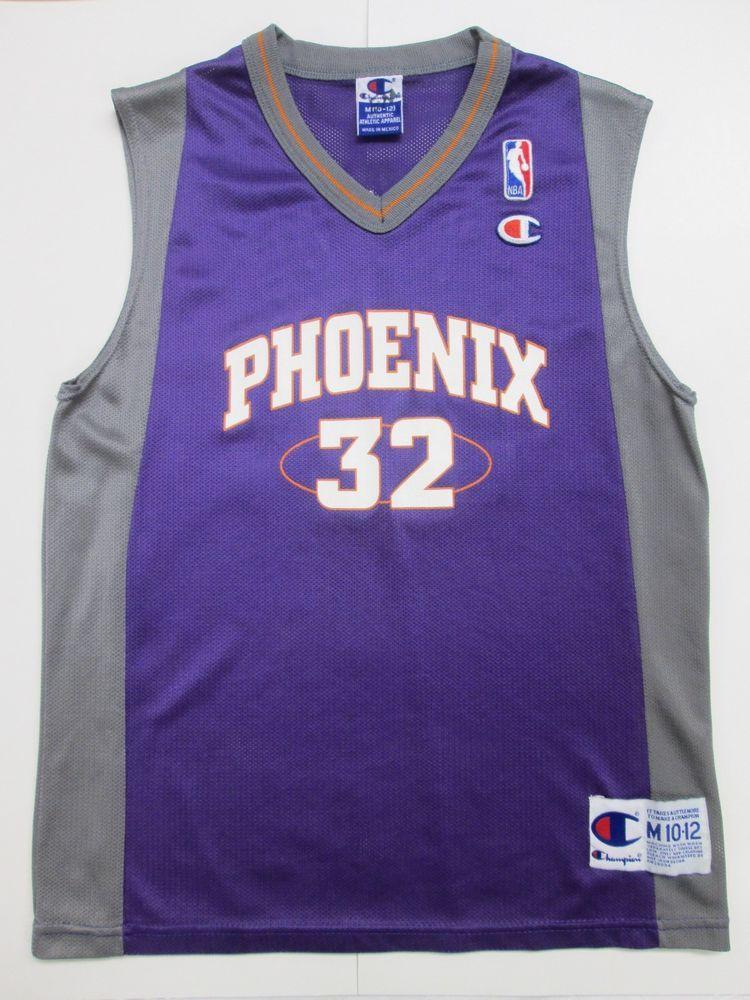 d00515a65026 NBA Phoenix Suns Jason Kidd  32 VINTAGE Jersey by Champion