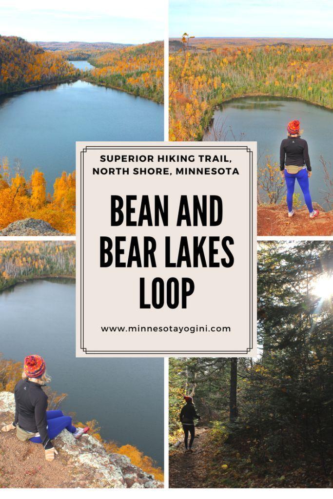 Bean and Bear Lakes Loop - Superior Hiking Trail #hikingtrails