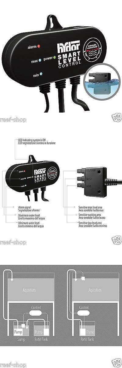 Meters and Controllers 117435: Hydor Smart Level Aquarium