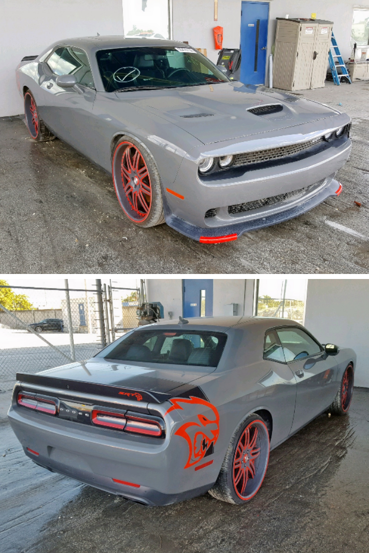 Hellcat Challenger For Sale >> This 2017 Dodge Challenger Srt Hellcat Is Under 3 8k Miles