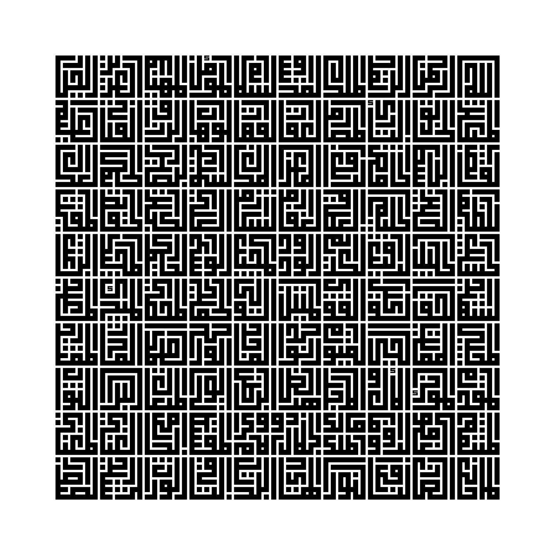 Calligraphy Panosundaki Pin