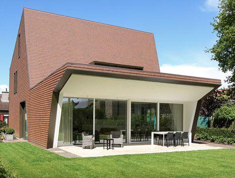 Villa Willemsdorp house in Belgium by Dieter De Vos Architecten
