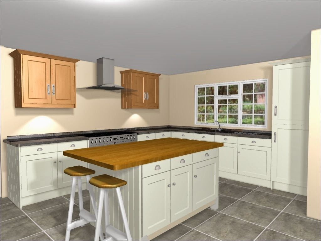 L Shaped Kitchen Designs Ideas For Your Beloved Home  Kitchen Endearing L Shaped Kitchen Island Design Ideas