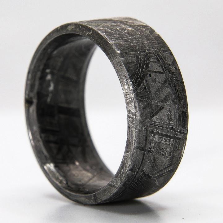 Meteorite Ring Mens Meteorite Ring Meteorite Ring Rings For Men