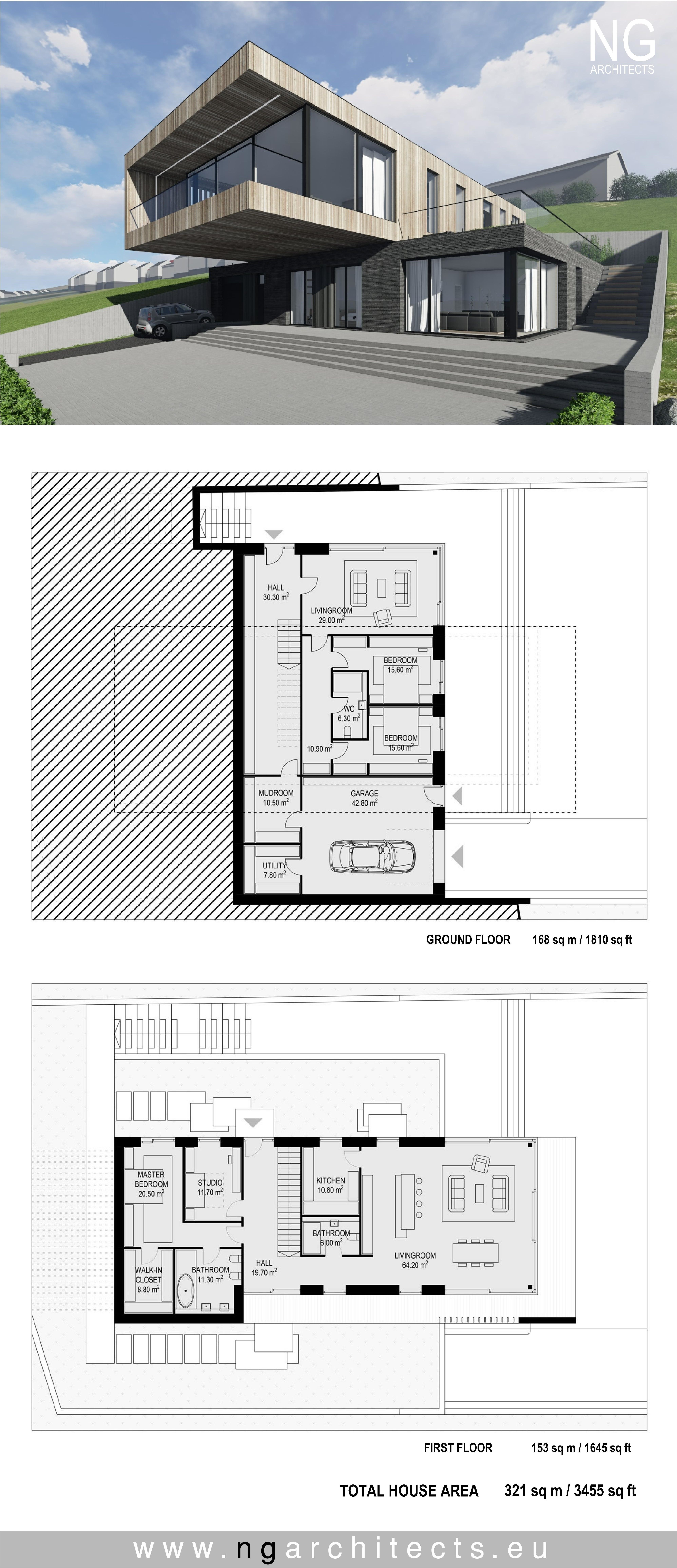 Modern House Plan Villa In Faroe Island By NG Architects Www.ngarchitects.eu Design Inspirations