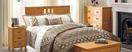 Dorchester Oak Bedroom Furniture Collection | Home style ...