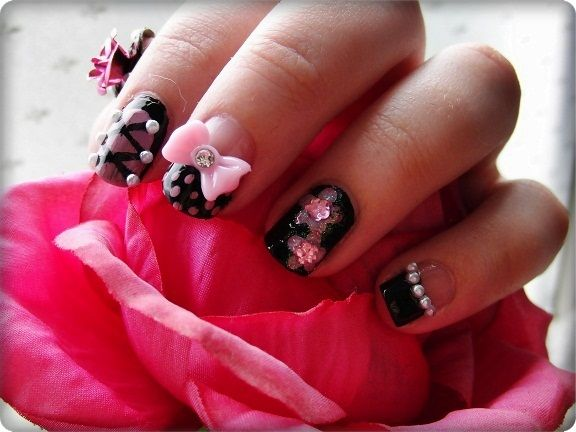 Nailart with bows it seems a bit time consuming but it doesnt nailart with bows it seems a bit time consuming but it doesn nail art bows3d prinsesfo Image collections