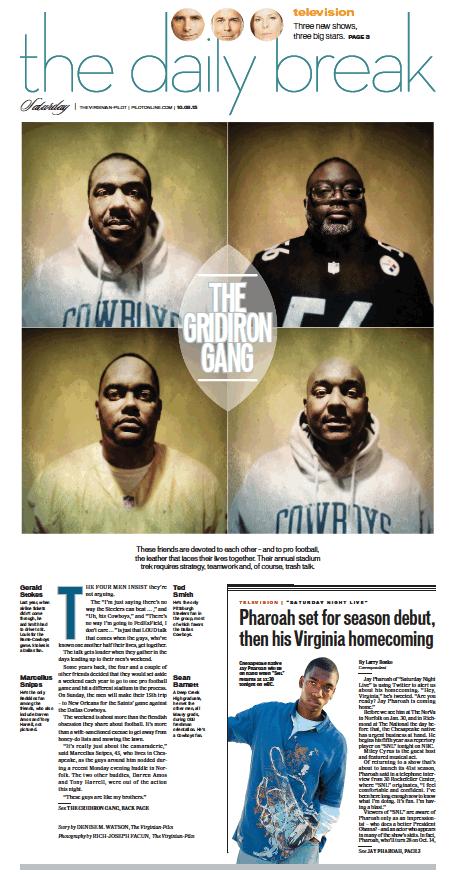 The Daily Break, Oct. 3, 2015.