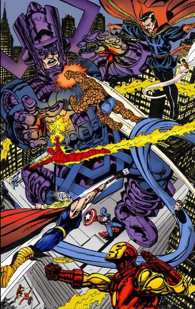 Galactus by John Byrne   Marvel comics art, Comics ...