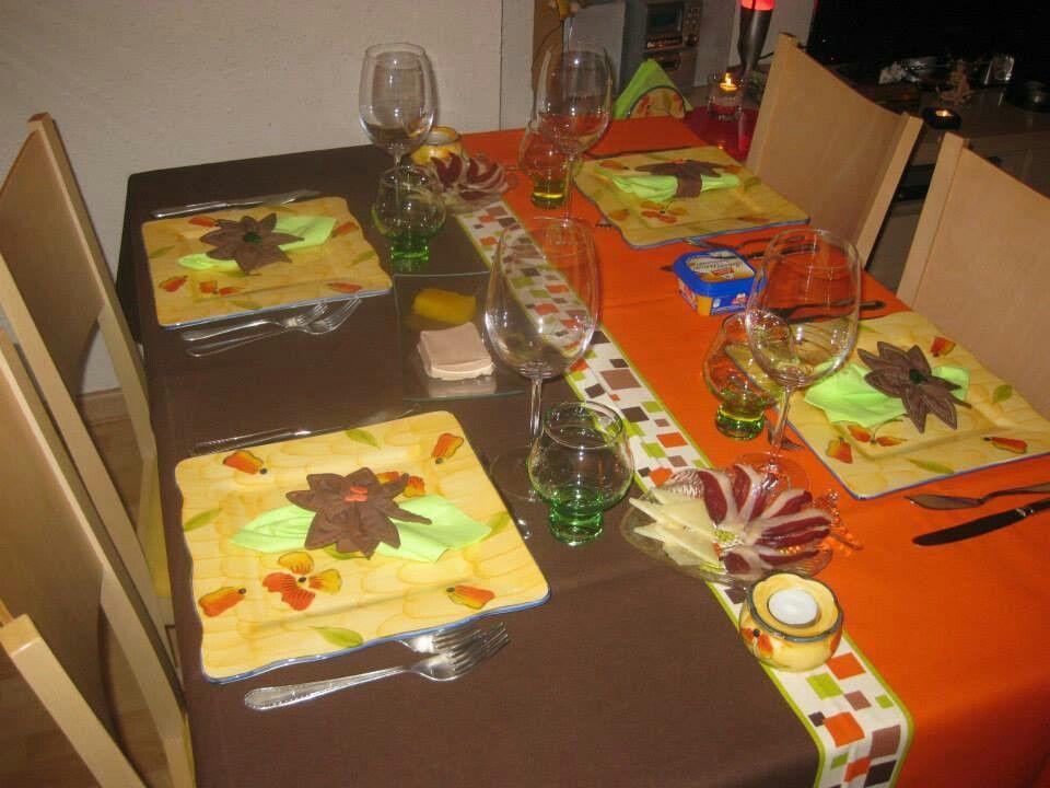 Una mesa de 4
