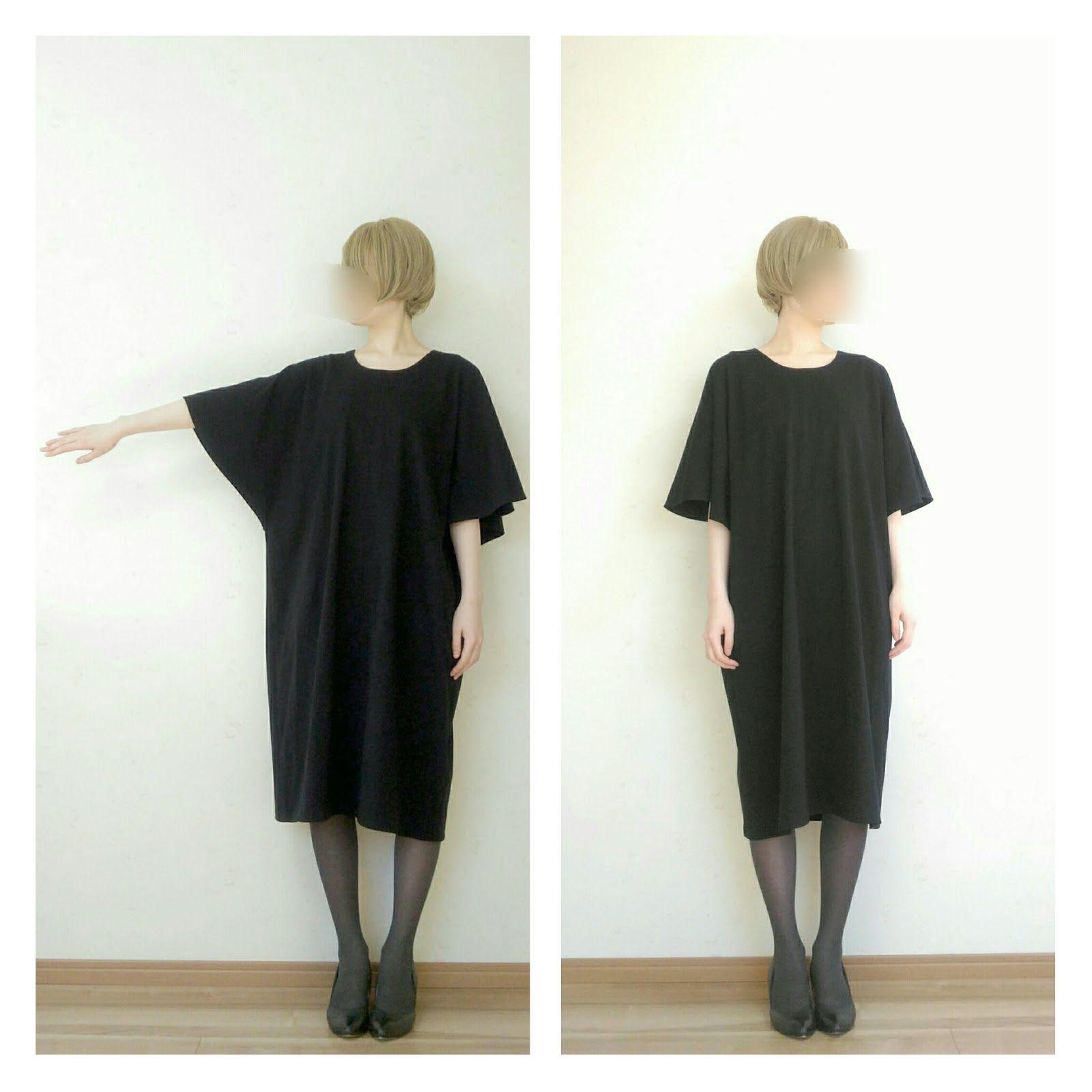 all ブログ内の服の全ての型紙をまとめました aラインのワンピース あきなし 袖付けなし シンプルで簡単なワンピースです 型紙 作り方 着物リメイク直線ワンピース 着物の生地幅をそのまま使う直線ワンピースです 服作り方 ワンピース作り方