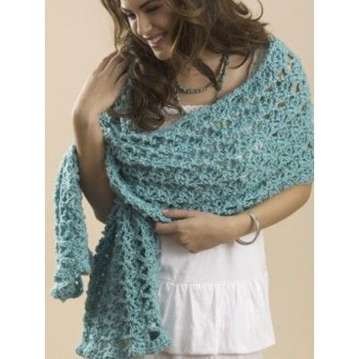 One Skein Summer Wrap Crochet Patterns Patterns Yarnspirations