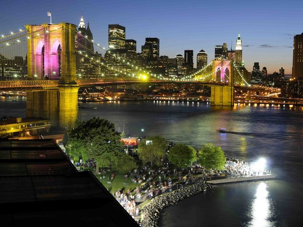 """brooklyn bridge, one of my """"places to visit"""""""
