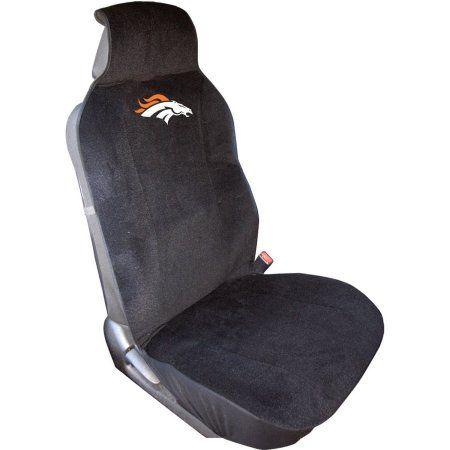 NFL Denver Broncos Seat Cover, Multicolor