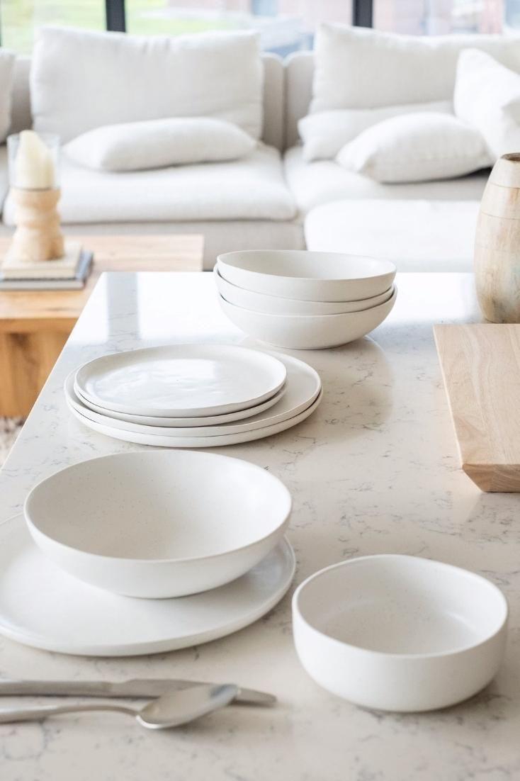 A modern, yet timeless take on tableware.