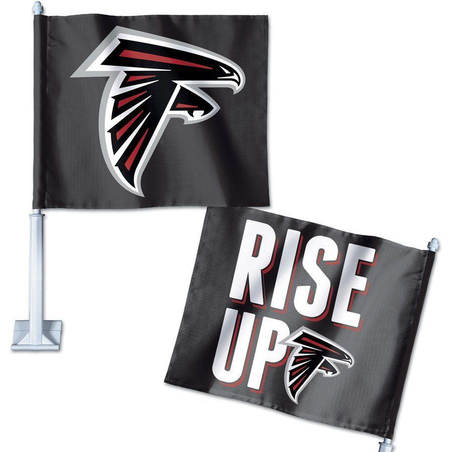 Atlanta Falcons Wincraft Double Sided Slogan Car Flag In 2020 Atlanta Falcons Atlanta Falcons Flag Atlanta Falcons Fans