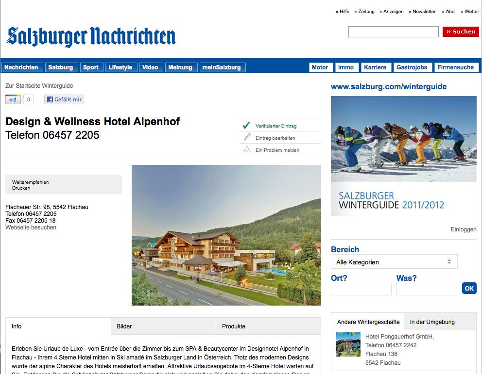Salzburger nachrichten partnersuche