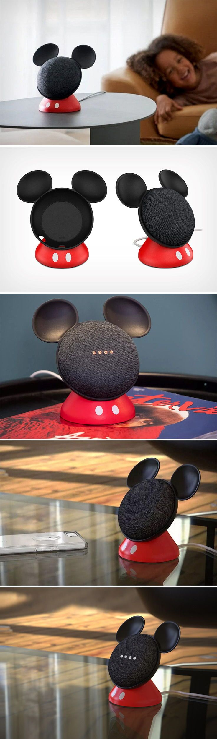 size 40 5f5bb e0a5b Partnering with Disney to make a mount for the Google Home Mini, the ...