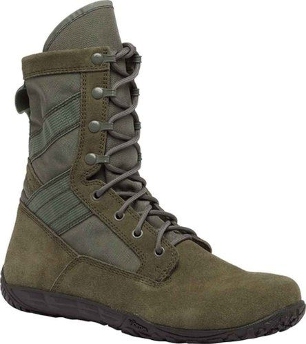 Tactical Research Tr103 Men S Mini Mil 8 In Trainer Tactical Boot Sage Green 3 M Us Minimalist Boots Military Combat Boots Military Boots