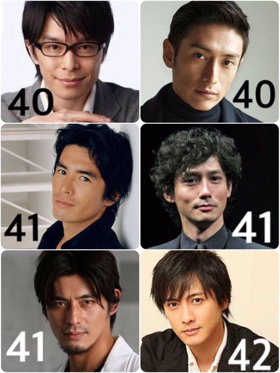 40 代 俳優 男性