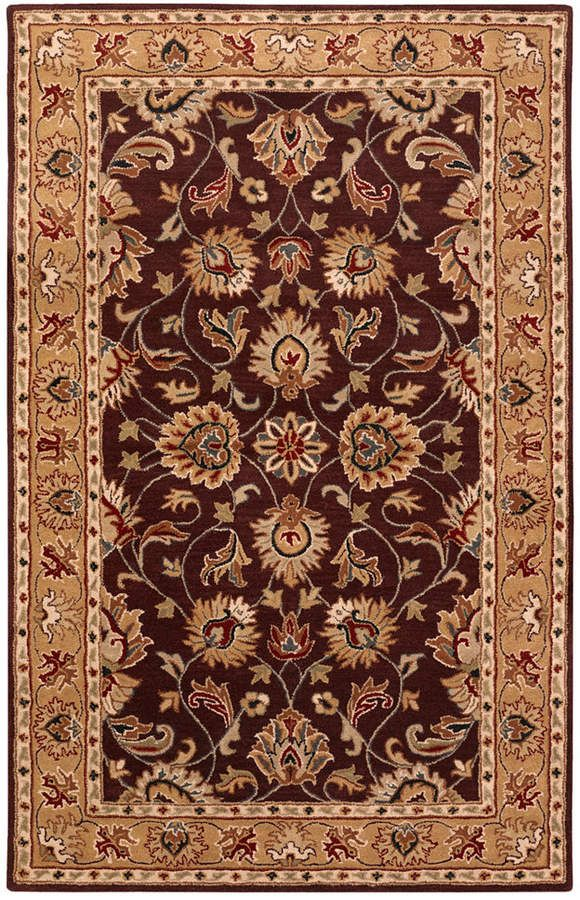 Surya Caesar Cae 1024 Burgundy 10 X 14 Area Rug Reviews Rugs