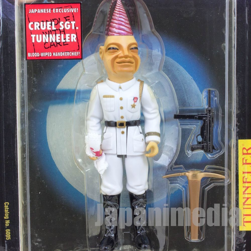 PUPPET MASTER Cruel SGT. Tunneler Figure Japanese Exclusive Full Moon Toys #FullMoonToys