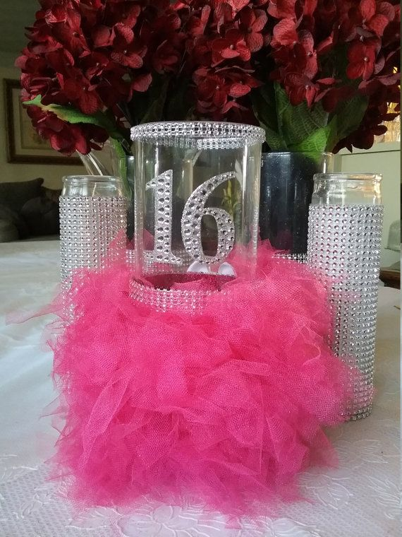 c3dc3118a2 Sweet 16 gift, Sweet 16 decorations, Sweet 16 centerpiece, Sweet 16 ...