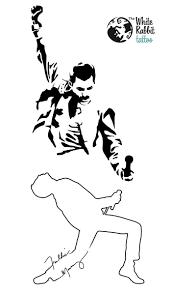 Resultado De Imagen De Freddie Mercury Tattoo Tatuaje De Freddie Mercury Tatuajes De Peliculas Arte De Aerografo