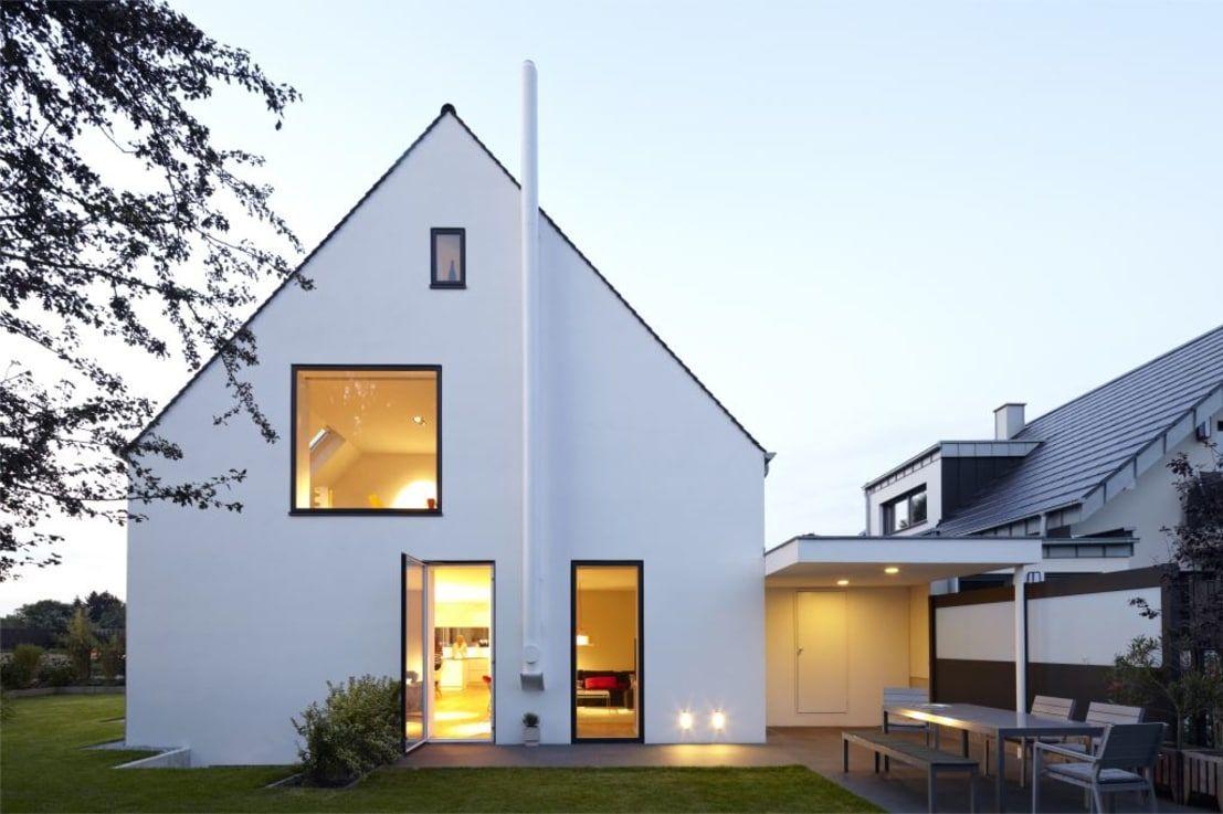 Haus am Stadtrand   homify   Scandinavian exterior design ...