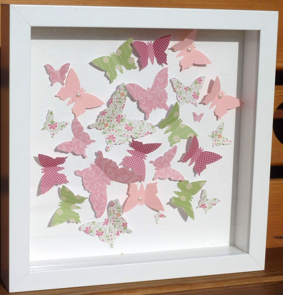 3d pink and green butterfly box picture all diy projects 3d pink and green butterfly box picture jeuxipadfo Images