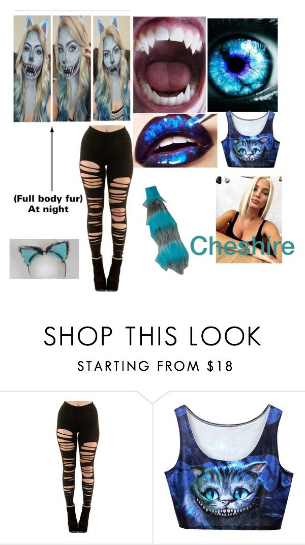 """""""Mood changes colour Cheshire Cat"""" by fashion0disaster ❤ liked on Polyvore"""