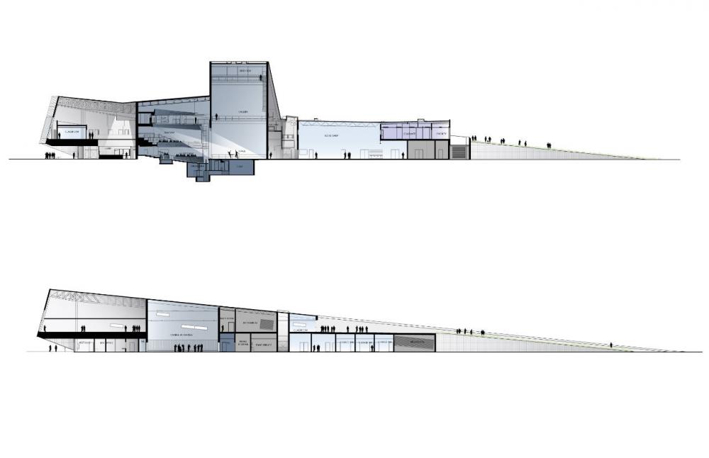 section opera house snohetta - Cerca con Google ...