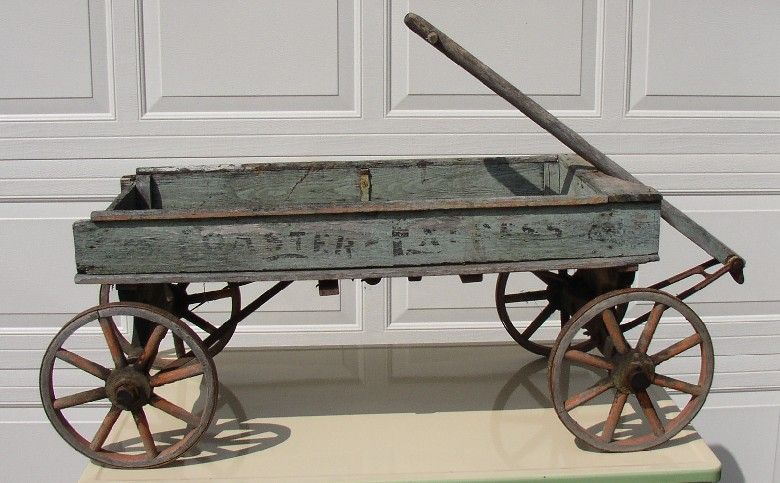 Old Antique Wooden Wagons Pittsfield
