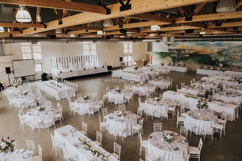 Blatchford Hanger Wedding Reception Venues Wedding Banquet Hall Wedding Service