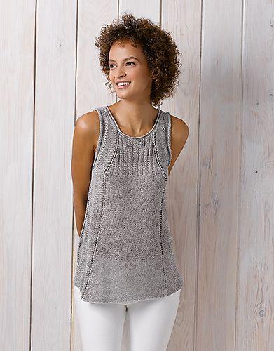 Knitting Summer Top : Top ibis by fil katia free pattern on ravelry knitting