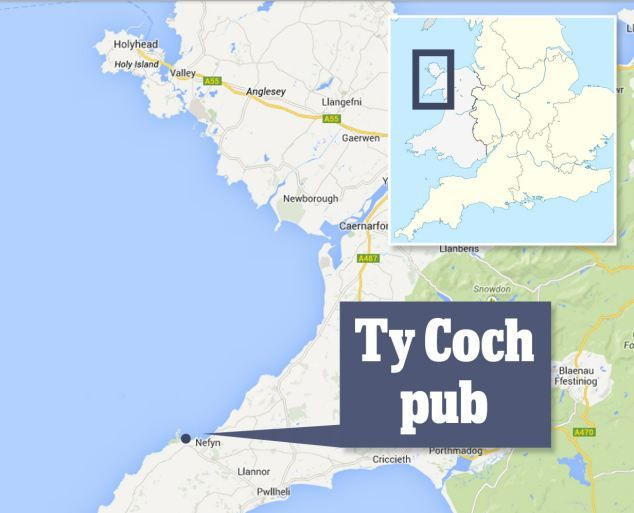 Remote pub in Wales named third best beach bar in the WORLD beating ...