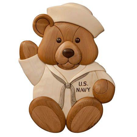 Navy bear intarsia pattern intarsia pinterest bears teddy navy bear intarsia pattern fandeluxe Ebook collections