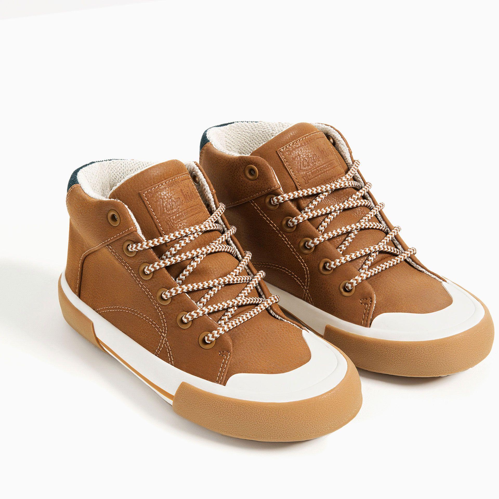 Sportowe Botki Za Kostke Zara Boots Shoes